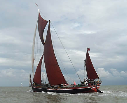 Thames Barge Repertor from Harwich height=354