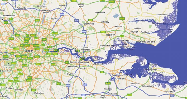 Thames Estuary maps