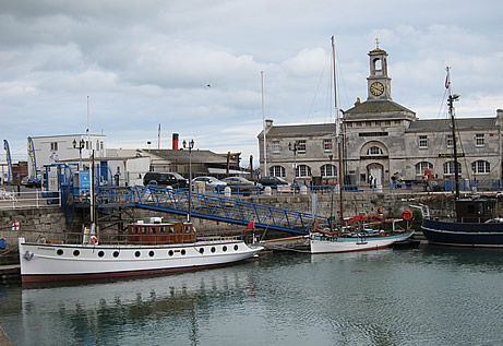 Ramsgate Maritime Museum with Betty in front